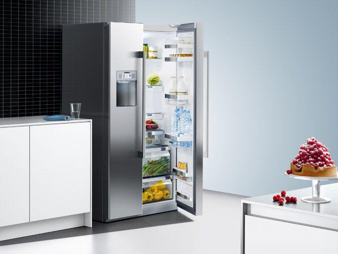 Side By Side Kühlschrank Verbrauch : Kühlen & gefrieren hausgeräte elektrogeräte und küchenstudio